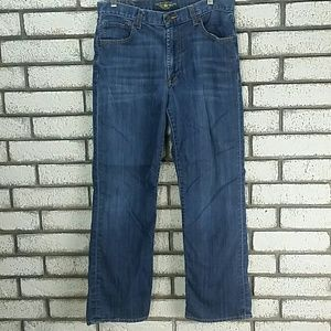 Lucky Brand Mens Jeans Size 34 181 Relaxed Straigh